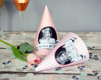 Personalised Hen Party Hat Template // DIY PRINTABLE FILE