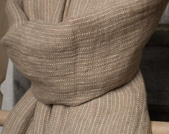 Linen Scarf - Natural Linen - Organic Scarf
