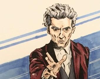 Twelfth Doctor Original Sketch