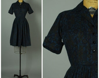 Lady Agate dress  • 1950s shirtwaist dress