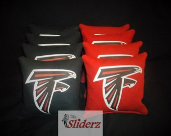Free Shipping NFL Atlanta Falcons Cornhole Bags Hand Made Ships within 1-2 Business Days Super Bowl