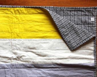 The Color Pop Quilt | Modern Ombre Quilt