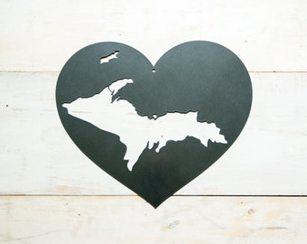 Michigan's Upper Peninsula Steel Heart