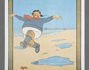 Vintage Skegness Is So Bracing National Railway Museum Travel Poster 15.75 x 25