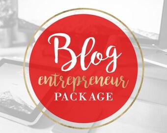 WORDPRESS Blog/Website Design Package - Custom Blog Header, Background, Navigation, etc!