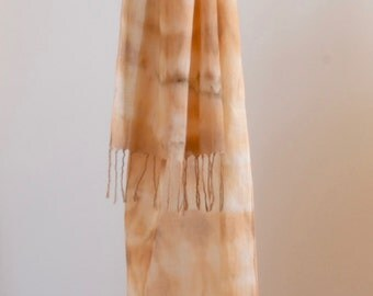 Natural Dye Organic Cotton Scarf - 35 x 150 cm - C1C002