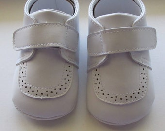 Baptism Christening Wedding Gown Baby Boy/Girl Gown White Soft Shoes