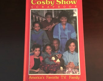 The Cosby Show Scrapbook 1986 Hardcover Weekly Reader Books