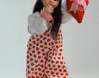 My Funny Valentine BJD by artist Lisa Olson