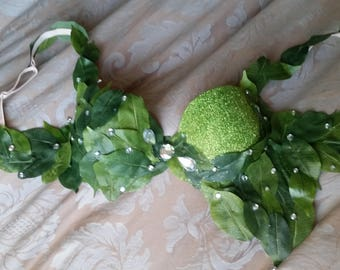 Eve/Poison Ivy Cosplay Rave Bra and Outfit
