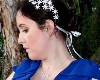 Stella Star Bridal Headpiece - Bridal Hair Piece - Bridal Headband - Wedding Hair Piece - Bridal Headpiece - Rhinestone Headpiece