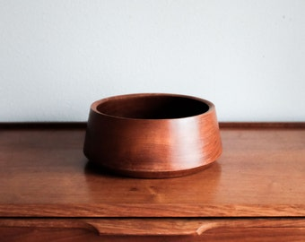 Danish Teak Wood Bowl