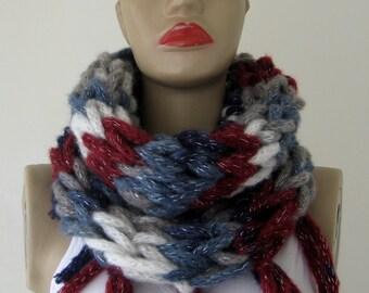 infinity scarves, infinity Batik Color Scarf, gift for her, gift for women, gift for christmas, gift ideas /// FORMALHOUSE