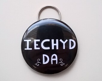 Welsh Gifts. Welsh Keyring. Wales. Iechyd Da Keyring. Welsh Bottle Opener. Welsh Language. Welsh Souvenir. Welsh  Design. Wales. Welsh