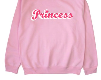 Princess ∘ Sweatshirt Sweater Jumper ∘ Boobs ∘ Black Blue Pink Grey ∘ S M L XL 2XL ∘ Tumblr Instagram Blogger