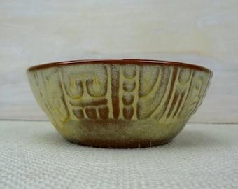 Frankoma Mayan Aztec Bowl // Frankoma Pottery