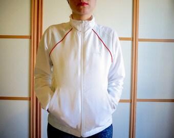 VINTAGE 80's tennis jacket//ADIDAS//