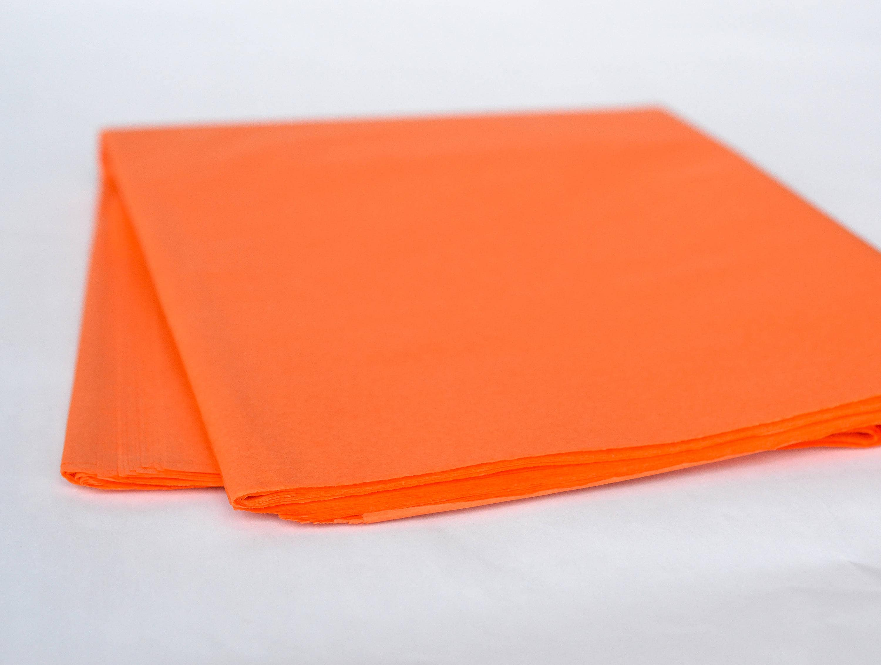 orange tissue paper Orange color tissue paper 15x20 sheet - 480 sheets per pack color flo tissue paper is made from 100% post industrial recycled fibers green way ® eco-friendly packaging made in the usa.