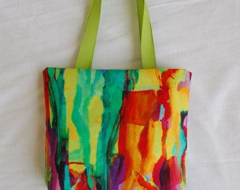 Fabric Gift Bag/ Small Tote/ Hostess Gift Bag