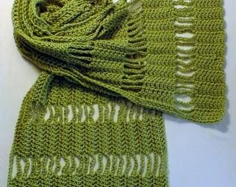 Scarf - Open Weave Crochet
