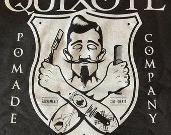 Large Quixote Pomade Co Tshirt