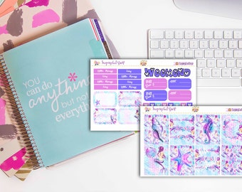 Enchanted Ocean Planner Sticker Set