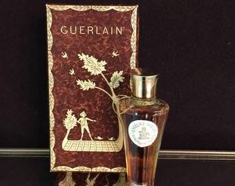 L'HEURE BLEUE perfume 1/4 oz Guerlain 1970s Marley Horse