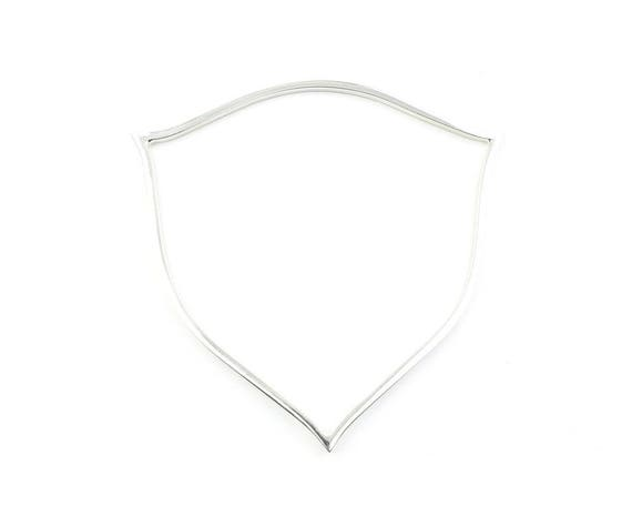 Sterling Silver Minimal Bangle, Modern, Contemporary, Minimalist, Geometric, Bar Bracelet
