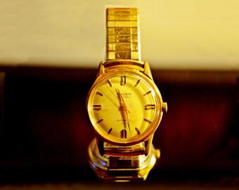 Men's Vintage Gruen Watch, 25 Jewels Autowind, Water And Shock Resistant