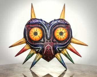 Zelda inspired Majora's Mask (Painted, Full Mask)
