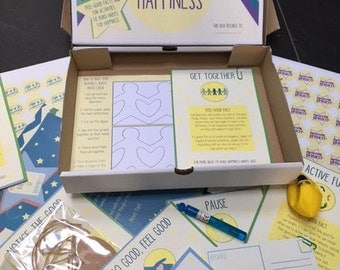 My Big Box of Happiness - An Activity Box to Give Children the Feel Good Factor