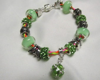 Pandora Leather European Charm Bracelet #728