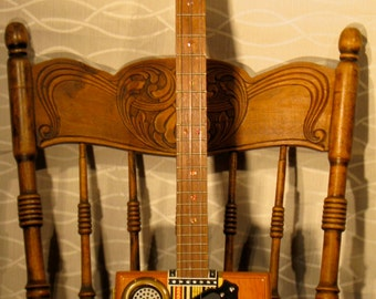 Ashton Delta Blues Cigar Box Guitar