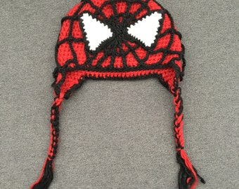 Knitted spiderman Etsy