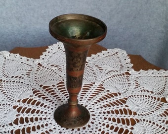 Brass Vase from India