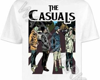 Football Casuals T Shirt Shirts . Casual .. The Beatles Sytle stone island cp company ma strum lacoste burberry adidas aquascutum