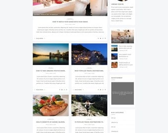 Fast, Responsive and Premium WordPress Blog Theme - Voroca. Retina Ready. Multipurpose Blog Theme. Check the demo and be amazed!