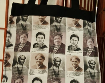 Nevertheless; She Persisted; Sisterhood tote bag; Womens march; on Washington; Feminist; Protest; Feminist Bag; Sojourner Truth; Rosa Parks