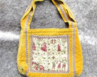 Tapestry Bag, Vintage Purse, Tapestry Purse, Boho Bag, Embroidered Bag, Boho Purse, Embroidered Purse, Vintage Bag