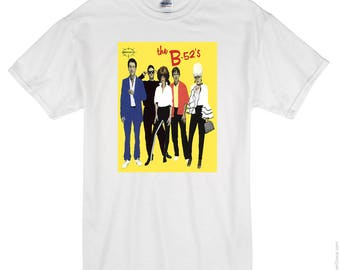 B-52's  - new wave - T-shirt