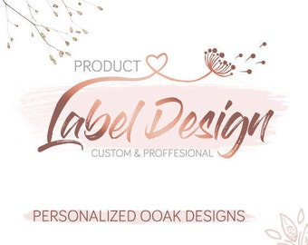 Custom Label Design - Custom Product Label - Custom Packaging Design - Professional Label Design - Product Packaging - Graphic Desgin