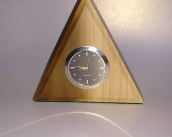 Handcrafted,Maple Wood,Mantel Clock