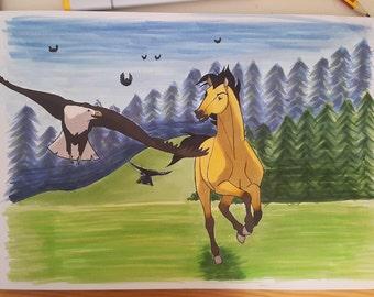 Spirit Stallion of the Plains - Dreamworks