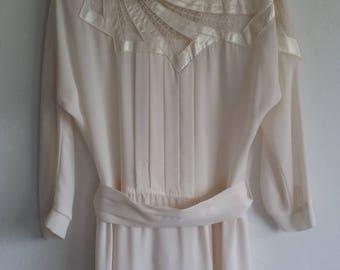 Vintage Dress • Sunday Kind of Love • 1980s