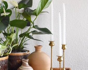 terra cotta clay pitcher / vessel flower vase