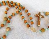Catholic Rosary Olive Wood