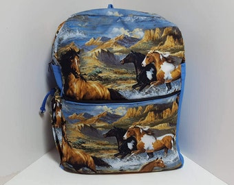 Wild Horses ADULT Backpack