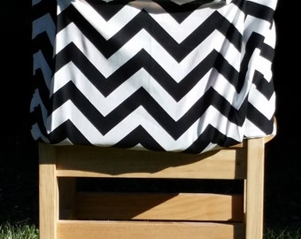 Chair Pockets // Teacher Classroom Organization // In Stock // Black Chevron // 14 inch deluxe // END of Year SALE // Seat Sacks