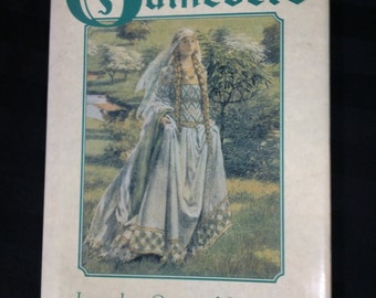 The Book of Guinevere ~ Legendary Queen of Camelot by Andrea Hopkins ~ Vintage 1990s King Arthur Lore Folk Tale Hardcover Book
