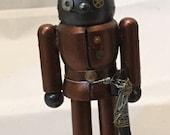RESERVED - Small Steampunk Robot Nutcracker